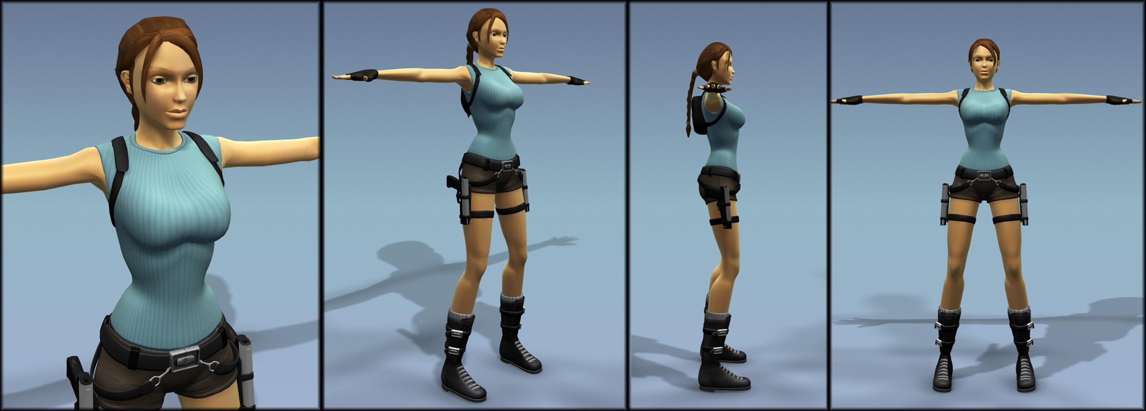 Lara 3d adult comics